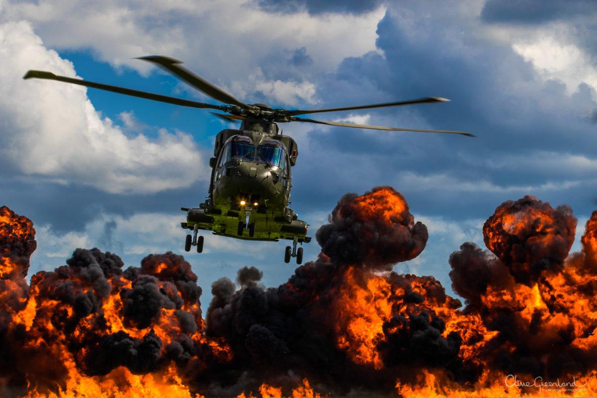 Permalink to:Heli Fire at RNAS Yeovilton
